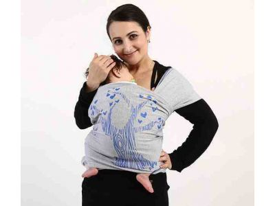 Gourdbaby - трикотажный, тянущийся слинг-шарф 100% хлопок Дерево купить в интернет-магазине «Берегиня» Украина