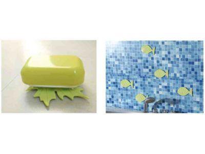 Антискользящие коврики для ванной - Листик купить в интернет-магазине «Берегиня» Украина