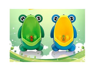 Писсуар детский Жабка - горшок для мальчика + Вакуумный крючок купить в интернет-магазине «Берегиня» Украина
