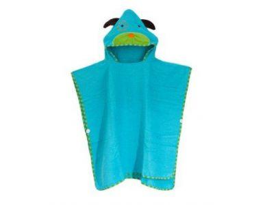 Детское полотенце-накидка пончо (аналог Skip Hop) с капюшоном - Собачка купить в интернет-магазине «Берегиня» Украина