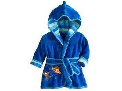 Детский халат из толстого плюша - Рыбка купить в интернет-магазине «Берегиня» Украина