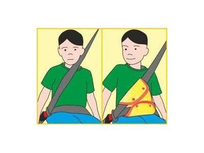 Адаптер ремня безопасности для детей ниже 150см купить в интернет-магазине «Берегиня» Украина
