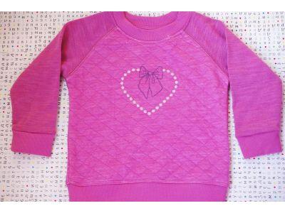 Реглан из шерсти Мериноса - Розовый 80,86,104 купить в интернет-магазине «Берегиня» Украина