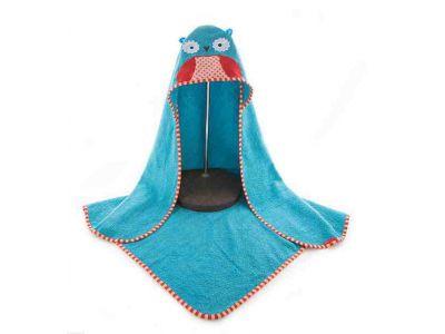Детское полотенце с капюшоном ( полный аналог Skip Hop) - Сова купить в интернет-магазине «Берегиня» Украина
