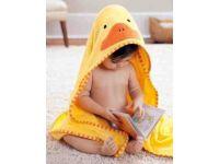 Детское полотенце с капюшоном ( полный аналог Skip Hop) - Утка купить в интернет-магазине «Берегиня» Украина
