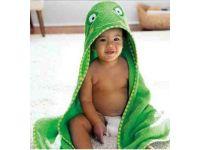 Детское полотенце с капюшоном ( полный аналог Skip Hop) - Лягушка купить в интернет-магазине «Берегиня» Украина
