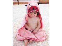 Детское полотенце с капюшоном ( полный аналог Skip Hop) - Жук купить в интернет-магазине «Берегиня» Украина