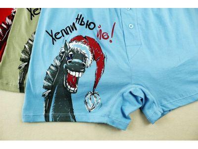 Мужские трусы Pelican - Хеппи Нью Йе купить в интернет-магазине «Берегиня» Украина
