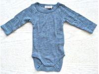 Бодик с руковами Name It чистая шерсть мериноса голубой размер 62 купить в интернет-магазине «Берегиня» Украина