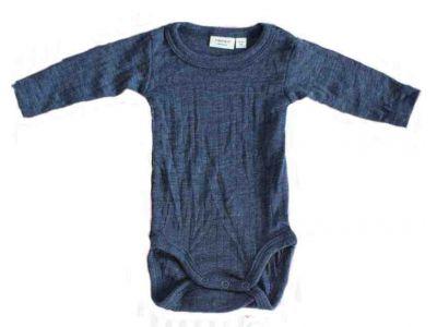 Бодик с руковами Name It чистая шерсть мериноса синий размер 62, 104 купить в интернет-магазине «Берегиня» Украина