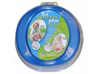 Дорожный горшок пластиковый Potette Plus ОРИГИНАЛ розовый купить в интернет-магазине «Берегиня» Украина