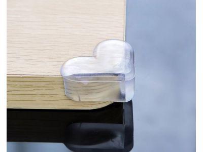 Прозрачная защита на углы - сердце купить в интернет-магазине «Берегиня» Украина