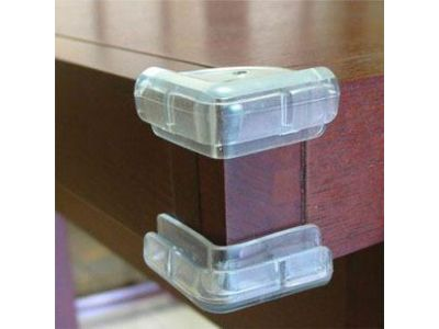 Прозрачная защита на углы квадратные купить в интернет-магазине «Берегиня» Украина