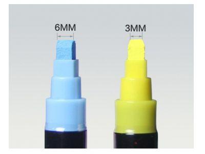 Меловой маркер на водной основе Flash Color 6мм - Набор 8 цветов купить в интернет-магазине «Берегиня» Украина