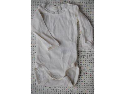 Бодик с руковами Name It чистая шерсть мериноса белый размер 62 купить в интернет-магазине «Берегиня» Украина