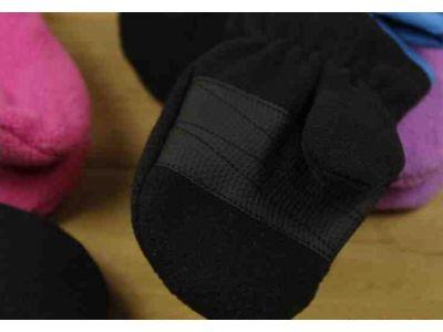 Варежки из флиса Thinsulate с полярным утеплителем черные 2-3 года купить в интернет-магазине «Берегиня» Украина