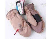Варежки SHAMP с полярным утеплителем Thinsulate коричневые 3-5 лет купить в интернет-магазине «Берегиня» Украина