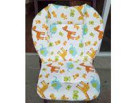 Матрасик в коляску, автокресло, стульчик для кормления - Зоопарк хлопок толстый купить в интернет-магазине «Берегиня» Украина