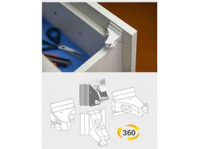 Внутренний магнитный замок на ящики от детей Fabe - упаковка 4шт купить в интернет-магазине «Берегиня» Украина