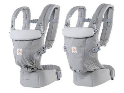 Рюкзак ADAPT Baby Carrier - Pearl Grey купить в интернет-магазине «Берегиня» Украина