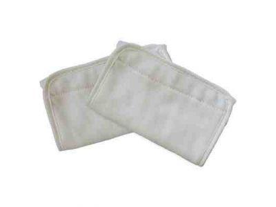Накладки для сосания на лямки к рюкзакам Ergobaby белые на липучках, оригина. купить в интернет-магазине «Берегиня» Украина