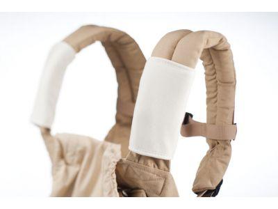 Накладки для сосания на лямки к рюкзака белые на кнопках купить в интернет-магазине «Берегиня» Украина