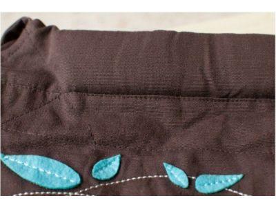 Май слинг Minizone - Синий Цветы купить в интернет-магазине «Берегиня» Украина