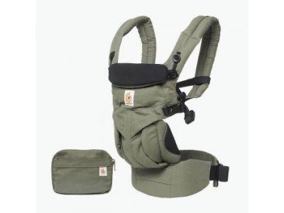 Эргономический Эрго рюкзак Ergobaby Ergo baby OMNI 360 khaki green (без барсеки) купить в интернет-магазине «Берегиня» Украина