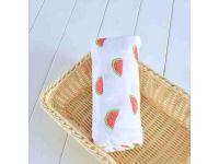 Марлевые муслиновые пеленки 120*120 - Арбузы купить в интернет-магазине «Берегиня» Украина