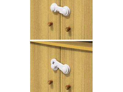 Крючок ― блокиратор для створчатых дверей белый купить в интернет-магазине «Берегиня» Украина