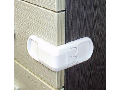 Угловой замок - две кнопки Белый купить в интернет-магазине «Берегиня» Украина