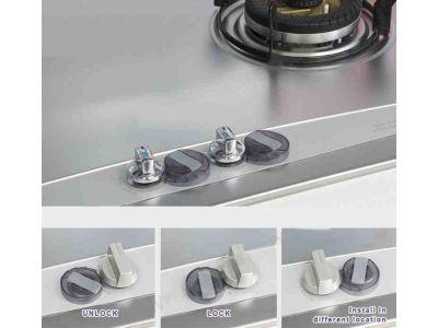 Колпачок с замком на ручки газовой плиты FABE - упаковка 2шт купить в интернет-магазине «Берегиня» Украина