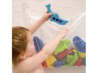 Сетка органайзер для хранения игрушек в ванной + 2 вакуумных крючка купить в интернет-магазине «Берегиня» Украина