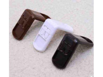 Угловой замок - две кнопки Коричневый купить в интернет-магазине «Берегиня» Украина