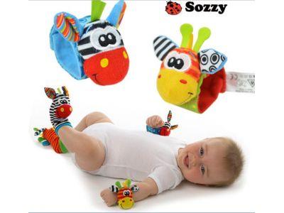 Развивающие погремушки на Ручки фирмы Sozzy купить в интернет-магазине «Берегиня» Украина