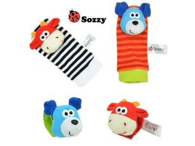 Развивающие погремушки на Ножки и Ручки фирмы Sozzy Набор 1 купить в интернет-магазине «Берегиня» Украина