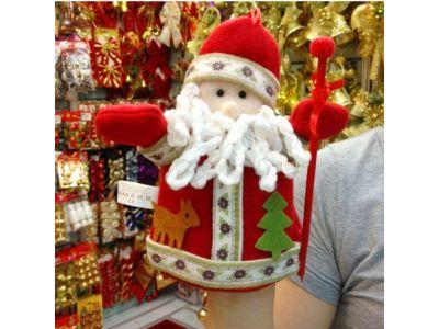Дед Мороз Игрушка на руку купить в интернет-магазине «Берегиня» Украина