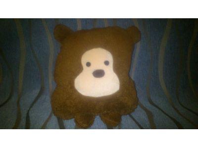 Теплое одеяльце и подушка, 2 в 1 - Мишка купить в интернет-магазине «Берегиня» Украина
