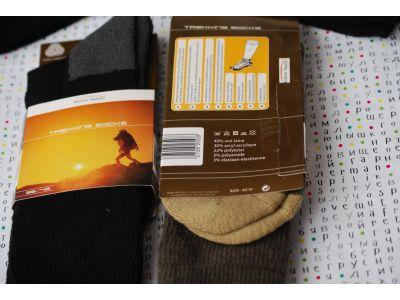 Носки из шерсти мериноса TREKKING 43-46 купить в интернет-магазине «Берегиня» Украина