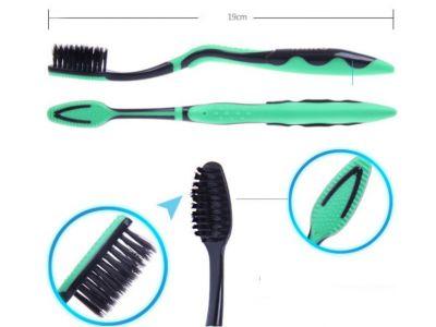 Зубные щетки технология Нано из нано смолы с добавлением бамбукового угля Анатомическая форма купить в интернет-магазине «Берегиня» Украина