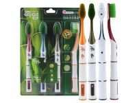 Зубные щетки технология Нано щетинок смолы с бамбуковой солью купить в интернет-магазине «Берегиня» Украина