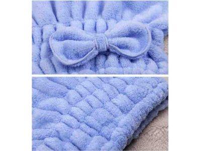 Полотенце-Шапочка для сушки волос из плотной микрофибры купить в интернет-магазине «Берегиня» Украина