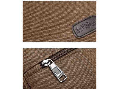 Мужская сумка барсетка из хлопка K005 черная купить в интернет-магазине «Берегиня» Украина