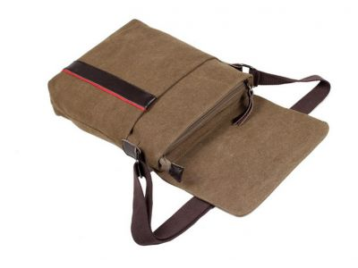 Мужская сумка барсетка из хлопка K014 черная купить в интернет-магазине «Берегиня» Украина