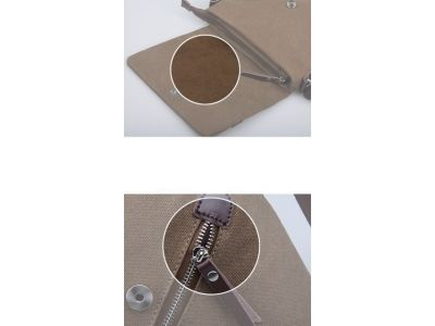Мужская сумка барсетка из хлопка K016 серая купить в интернет-магазине «Берегиня» Украина