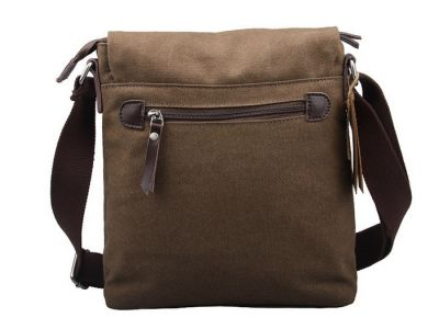 Мужская сумка барсетка из хлопка K016 коричневый купить в интернет-магазине «Берегиня» Украина