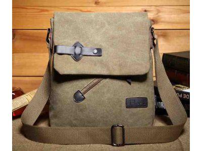 Мужская сумка барсетка из хлопка K016 песочный купить в интернет-магазине «Берегиня» Украина