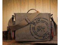 Мужская сумка из хлопка для нетбука, планшета K017 светло-коричневая купить в интернет-магазине «Берегиня» Украина