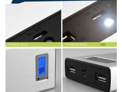 Pineng PN-910 Power Bank - 11 200 mAh Оригинал купить в интернет-магазине «Берегиня» Украина