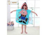 Пляжное полотенце пончо - Пират купить в интернет-магазине «Берегиня» Украина